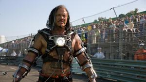 Mickey Rourke as Whiplash in a still from Iron Man 2.