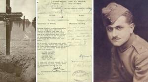 Lieutenant Shri Krishna Chanda Welinkar hailed from Bombay in colonial India(@CWGC/Twitter)