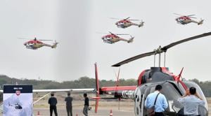 The Indian Air Force's (IAF's) fighter jets and transport planes will carry out fly-pasts across the length and breadth of the country.(ANI)