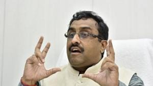 Talking about China, Ram Madhav said he felt many companies will move out of the neighbouring country in the wake of the coronavirus crisis and India will be an attractive destination for them.(Saumya Khandelwal/HT file photo)