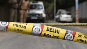 This is the third murder case reported in Delhi between Monday and Tuesday morning even as a majority of the police personnel remain on streets enforcing the lockdown rules.(HT Photo)