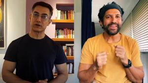 Aamir Khan and Farhan Akhtar in a still from Dil Chahta Hai.