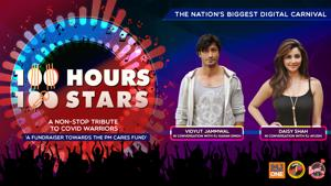 """<p>""""Donate towards #PMCARES fund by clicking on the link: https://m.p-y.tm/FFM-PMCARES</p><p>In this hour of #100Hours100Stars, welcome Vidyut Jammwal and Daisy Shah with RJs Karan Singh & Ayushi.</p><p>Disclaimer:</p><p>Fever FM, Radio Nasha & Radio One do not take any responsibility for the successful operation, uptime, and consummation of the payment process, which is being run by Paytm and linked directly to the PM Cares Fund collection window/portal. The role of Fever FM, Radio Nasha & Radio One is to encourage donations</p><p>#100Hours100Stars""""</p>"""