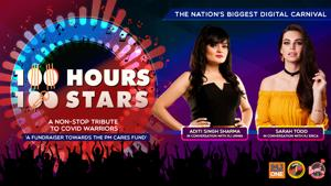 """<p>""""Donate towards #PMCARES fund by clicking on the link: https://m.p-y.tm/FFM-PMCARES</p><p>These two powerhouses of talent are gracing your feeds next on #100Hours100Stars - Aditi Singh Sharma & Sara Todd with RJ Urmin & Erica.</p><p>Disclaimer:</p><p>Fever FM, Radio Nasha & Radio One do not take any responsibility for the successful operation, uptime, and consummation of the payment process, which is being run by Paytm and linked directly to the PM Cares Fund collection window/portal. The role of Fever FM, Radio Nasha & Radio One is to encourage donations</p><p>#100Hours100Stars""""</p>"""