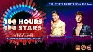 """<p>""""Donate towards #PMCARES fund by clicking on the link: https://m.p-y.tm/FFM-PMCARES</p><p>Join RJ Pankaj and RJ Kay as we chat with popular British singer HRVY and India's all-time fav comedian Raju Srivastav. </p><p>Disclaimer:</p><p>Fever FM, Radio Nasha & Radio One do not take any responsibility for the successful operation, uptime, and consummation of the payment process, which is being run by Paytm and linked directly to the PM Cares Fund collection window/portal. The role of Fever FM, Radio Nasha & Radio One is to encourage donations</p><p>#100Hours100Stars""""</p>"""
