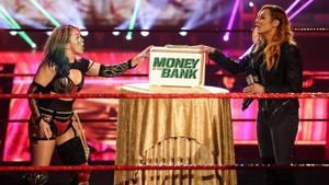 Asusa becomes the new Raw Women's Champion as Becky Lynch relinquishes title.(WWE)