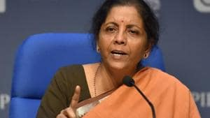 Union Finance Minister Nirmala Sitharaman said low threshold in the definition has created a fear among MSMEs of graduating out of the benefits and hence killing the urge to grow.(PTI file photo)