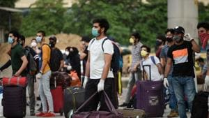 As per official rolls, a total of 499 students left for J&K from Haryana, of which 333 were from Gurugram. (Parveen Kumar/HT)