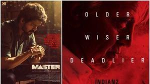Kamal Haasan's Indian 2 and Vijay's Master will get into post production.