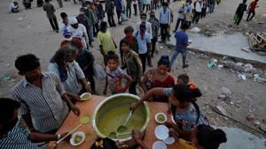 Despite the tall claims of the district administration, ration and community kitchen meals are still not reaching those that need them the most.(Reuters file photo. Representative image)
