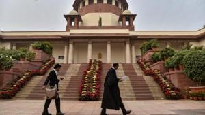 The Supreme Court will hear cases through video conferencing from May 18 till June 19.(PTI file photo)