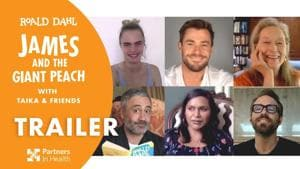 Lockdown story time: Oscar-winning filmmaker Taika Waititi leads Roald Dahl's James and the Giant Peach Covid-19 fundraiser.(YouTube)