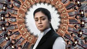 Ponmagal Vandhal stars Jyotika as a lawyer.