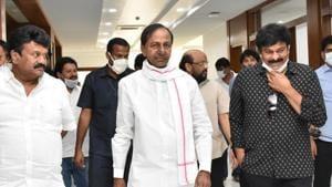 Telugu industry bigwigs meet Telangana CM to discuss the road ahead, see pics