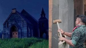 Tovino Thomas lashes out at religious fanatics for destroying church set of Malayalam film Minnal Murali