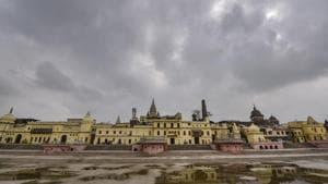 A view of Ram ki Paidi near the banks of River Saryu, in Ayodhya.(PTI)