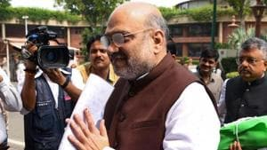 Home Minister Amit Shah ordered officials to let Kashmiri prisoners lodged in jails outside Kashmir to call up home on Eid as a special gesture.(AFP)