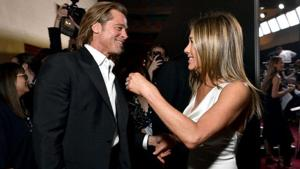 Jennifer Aniston and Brad Pitt reunited at the 2019 SAG awards.