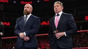 Vince McMahon and Triple H.(WWE)