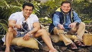 Salman Khan and his father Salim Khan celebrated Eid separately this year.