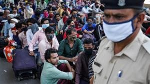 350 migrants jump off trains to escape quarantine in Bihar, 180 detained