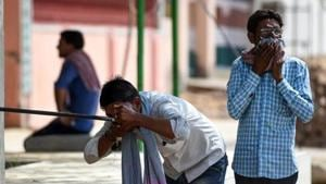 Heatwave conditions at many places with severe heatwave in isolated pockets are very likely over Vidarbha, west Rajasthan, the IMD said.(AFP)