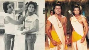 Ramayan actor Sunil Lahri has shared a rare throwback picture with onscreen brother Arun Govil.