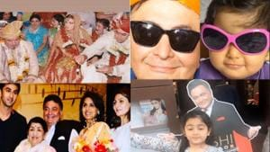 Riddhima Kapoor has shared several pictures of late father Rishi Kapoor.
