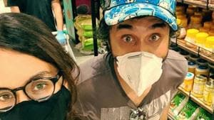 Shraddha Kapoor with her brother Siddhanth.