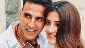 Akshay Kumar and Nupur Sanon starred in Filhall.