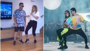 David Warner and wife Candice often dance to Indian film hits.