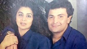 Neetu Kapoor shared a throwback photo with late husband Rishi Kapoor.
