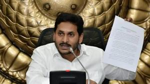 Andhra Pradesh chief minister YS Jagan Mohan Reddy would also be meeting Union home minister Amit Shah and other ministers to discuss certain issues pertaining to the state, an official said.(Twitter/CMO Andhra Pradesh)
