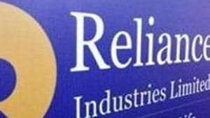 On Monday, shares of RIL closed at ₹1,520.45 up 3.77% from its previous close, while the benchmark index, Sensex gained 2.71% to close at 33,303.52 points.(Reuters file photo)
