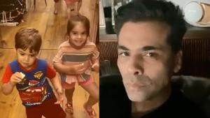 Karan Johar said he has been teaching Yash and Roohi about water conservation.