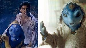 Jaadoo was an alien in Hrithik Roshan's 2003 film Koi Mil Gaya.