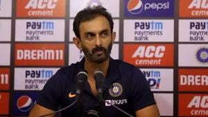 No saliva on ball advantageous for batsmen: Batting coach Vikram Rathour