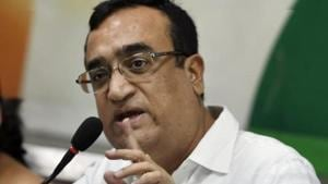 """Senior Congress member Ajay Maken lashed at the Aam Aadmi Party government for indulging in """"image-making and event management"""".(PTI)"""