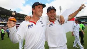 File image of Tim Bresnan and Graeme Swann.(Getty Images)