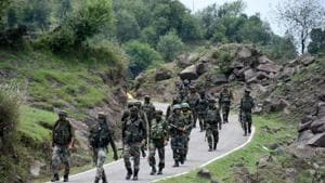 The operation was jointly carried out by the Jammu and Kashmir Police and Indian Army.(Representative Photo/ANI)