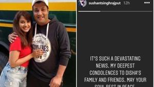 Sushant Singh Rajput and Varun Sharma posted heartfelt notes on Disha Salian.