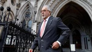 Vijay Mallya lost his appeal against the 2018 order to extradite him in the UK high court in April. Last month, the high court also refused Mallya permission to appeal in the UK Supreme Court.(AFP photo)