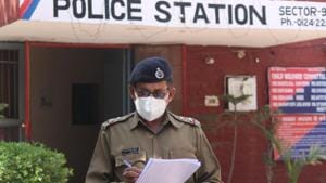 The construction work had held due to the lockdown and have restarted last month, the buildings are likely to get ready before January 2021, said police.(Yogendra Kumar/HT file photo. Representative)