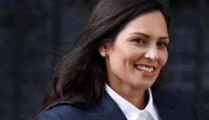 Police reportedly took offense after Priti Patel called out officers in Bristol for not intervening when protesters pulled down the statue on June 8.(REUTERS)