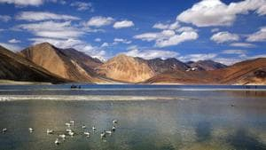"""Army chief General Manoj Mukund Naravane last week said disengagement of Indian and Chinese forces was taking place in a """"phased manner"""" along the LAC where the situation was """"under control"""". (AP)"""