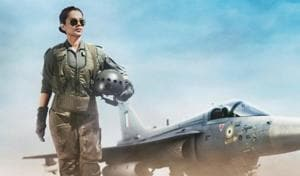 Kangana Ranaut will be seen as an Indian Air Force pilot in Tejas.