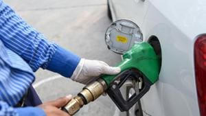 Petrol and diesel prices had touched a record high in 2018.(Biplov Bhuyan/HT PHOTO)