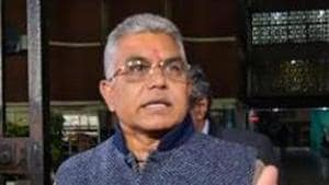 West Bengal BJP President Dilip Ghosh said his party will counter political violence by Trinamool Congress in kind.(PTI)