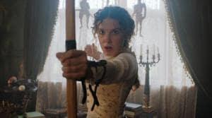 Millie Bobby Brown stars as Sherlock Holmes' sister in Netflix's Enola Holmes.