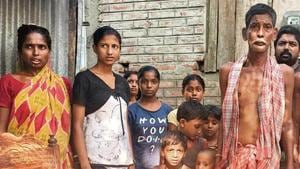 Several members of the Arja family have been excluded from NRC.(HT Photo)